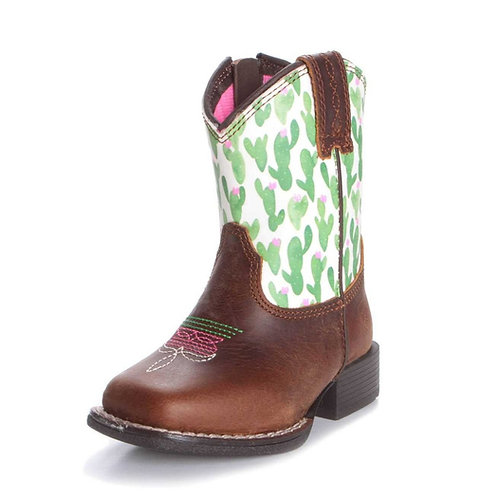 Ariat Lil' Stompers Toddler Boot - Anaheim Cactus