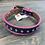 Thumbnail: Kid's Brown & Hot Pink Studded Belt