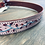 Thumbnail: Ladies Pink & Burgundy Floral Belt