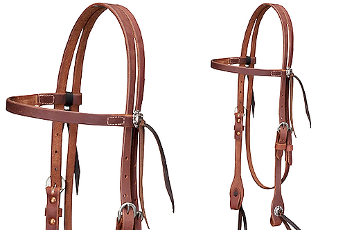 Cactus Oiled Harness Browband