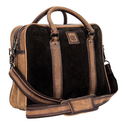 STS Heritage Satchel Briefcase - Chocolate Brown