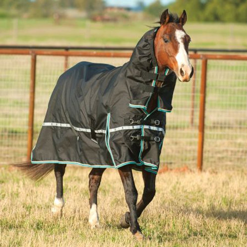 Classic Equine 1200D Rain&Windbreaker Turnout Sheet with Hood
