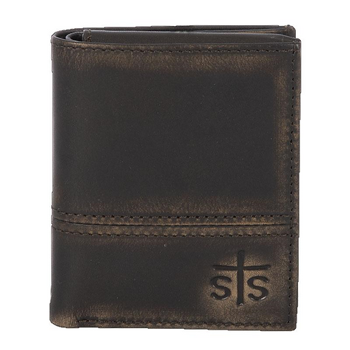 STS Ranchwear Pony Express Hidden Cash Wallet