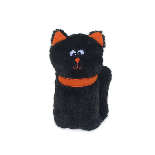 Zippy Paws Colossal Buddie Squeaky Halloween Toy - Black Cat