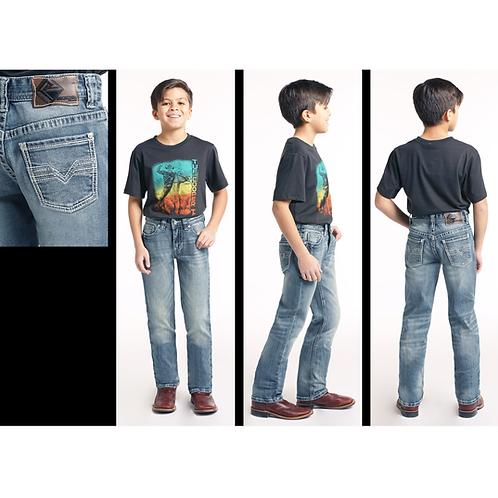 Rock & Roll Denim Medium Vintage Reflex Revolver Jeans