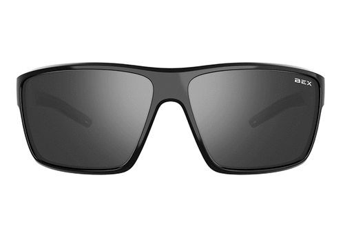 BEX Fin Sunglasses - Black Frame, Black Lens