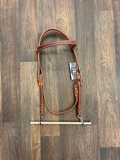 TN Medium Oil Browband with Quick Change Snaps