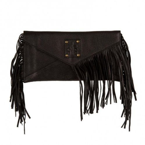 STS Ranchwear Envelope Clutch - Black