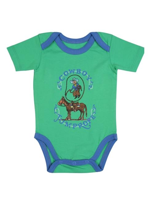 Wrangler Infant 'Cowboy Jump Rope' Onesie
