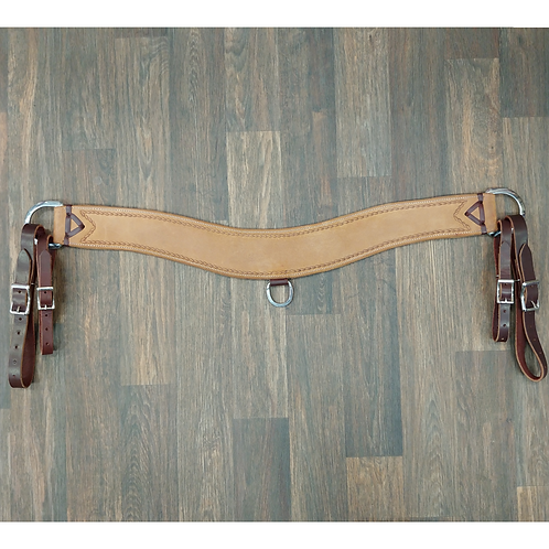 """Wildfire Saddlery Golden Rough Out 3-1/2"""" Tripper"""