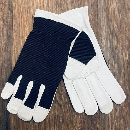 Goatskin Spandex Back Pull-on Unlined Glove