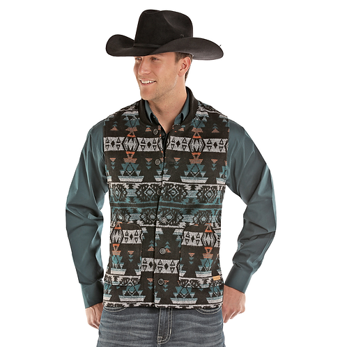 Powder River Outfitters Idaho Aztec Vest