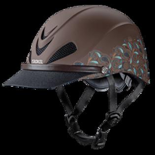 Troxel Dakota Helmet - Turquoise Paisley