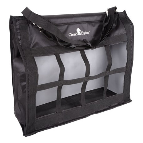 Classic Equine Top Load Haybag - Solid Black