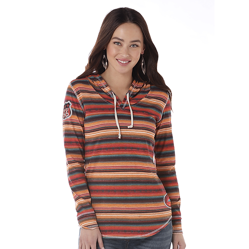 Panhandle Serape Route 66 Light Hoodie