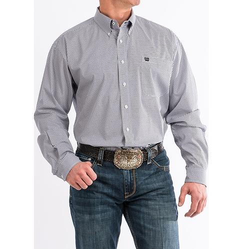 Cinch Grey & Purple Scale Western Shirt