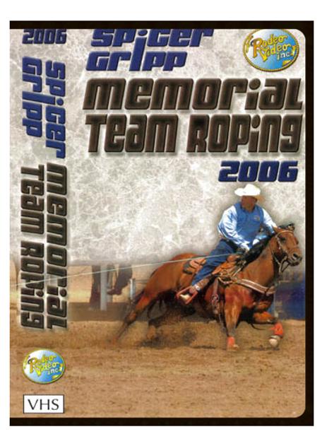 Spicer Gripp 2006 Memorial Team Roping ***USED*** DVD