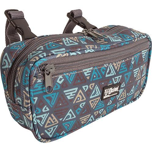 Cashel Small Pommel Bag - Teal Tribal