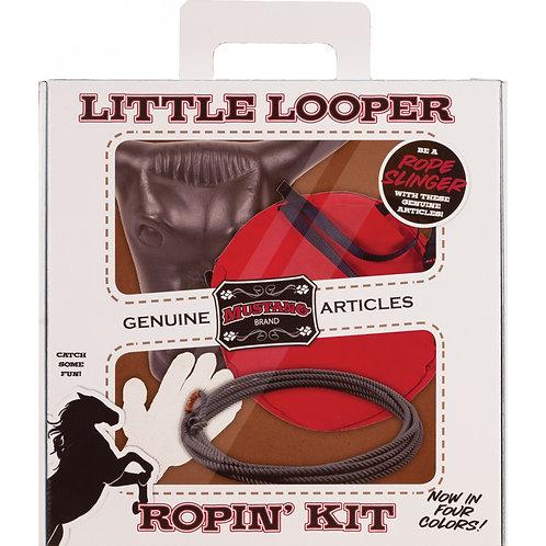 LIttle Looper Ropin' Kit - RED Rope Bag