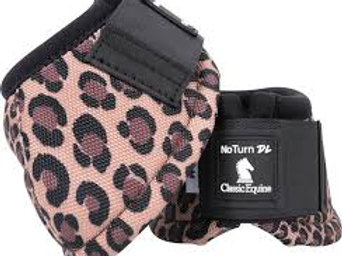 Classic Equine Bell Boots - Cheetah
