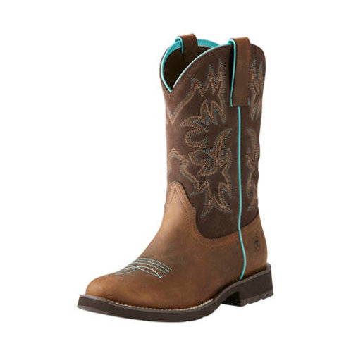 Ariat Delilah Round Toe Western Boots