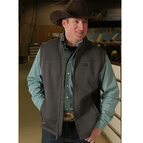 Cinch Steel Grey Vest
