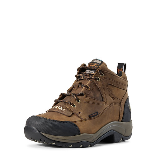 Ladies Ariat Terrain Insulated Boot - Distressed Brown