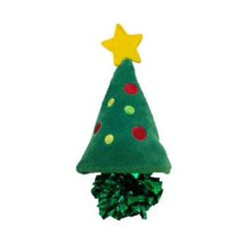 Kong - Holiday Crackles Tree Cat Toy