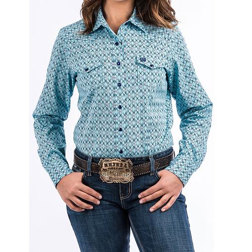 Cinch Light Blue Vintage X Western Shirt