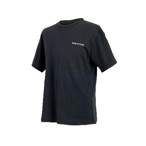 Back On Track T-Shirt - Black