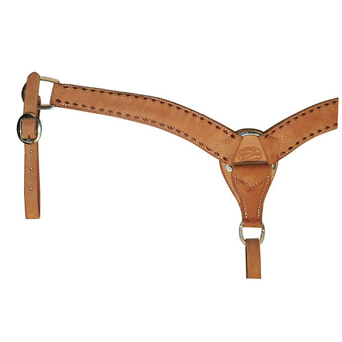 Charmayne James Latigo Buckstitch Breast Collar