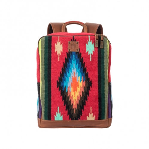 STS Serape Backpack With Leather Trim