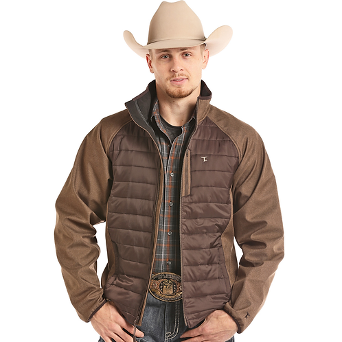 Panhandle Two Tone Brown Softshell Jacket