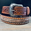 Thumbnail: Brown Belt with White Laces & Studs