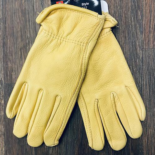 Watson - Deer Skin Unlined Roper Gloves
