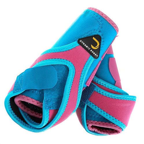 Dynamic Edge Splint Boots - 2pk - Turquoise & Pink