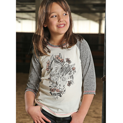 Cinch Cream 'Friends Forever' Top