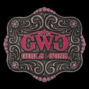 Attitude Girls With Guns Pink Buckle