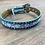 Thumbnail: Kid's AR Turquoise Chevron Bling Belt