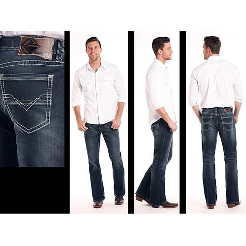 Rock & Roll Denim DBL Barrel Re-Flex Denim Jeans