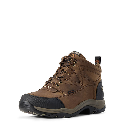 Men's Ariat Terrain Insulated Shoes -Distressed Brown