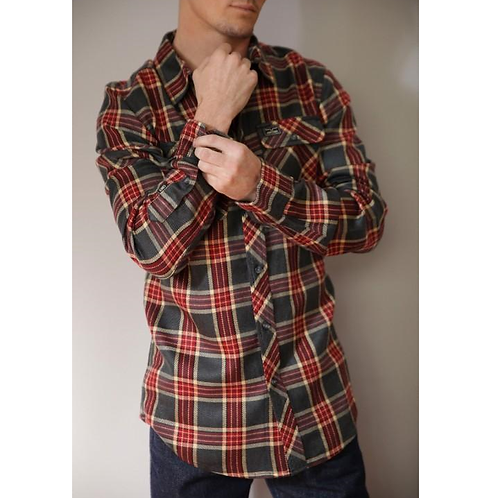 Kimes Ranch Jackaroo Flannel Shirt