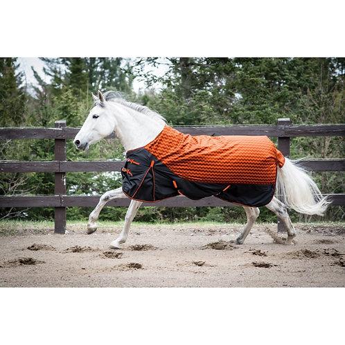 Century 600D Winter Turnout Blanket w/300g Fill - Orange