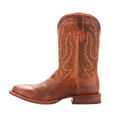 Men's Circuit Competitor Weathered Brown Cowboy Boot