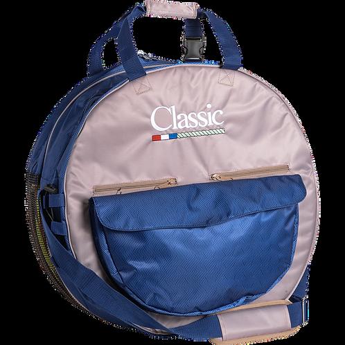 Classic Deluxe Rope Bag - Navy & Tan