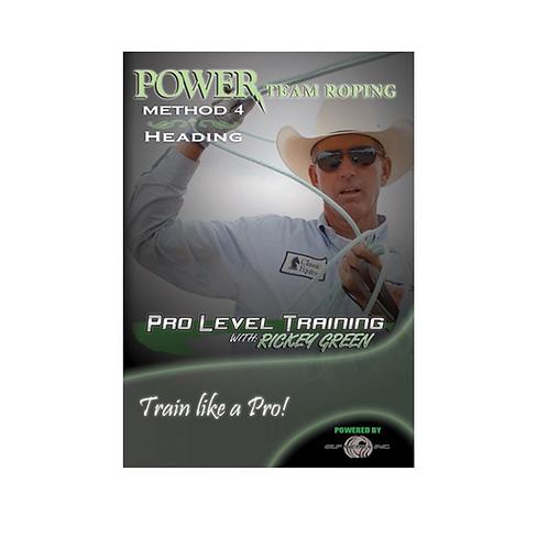 Pro Level Training (Heading) With Rickey Green DVD