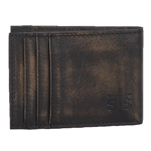 STS Ranchwear Pony Express Money Clip Card Wallet