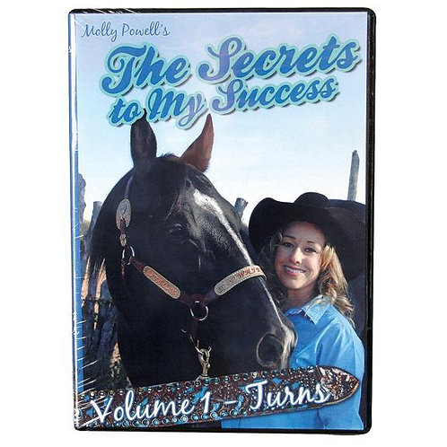 Molly Powell The Secret To My Success Volume 1 Turns DVD