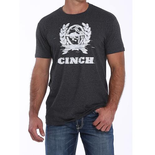 Cinch Grey Blur Logo Tee