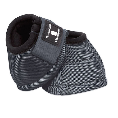 Classic Equine Bell Boots -Grey